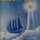HARBOR LIGHTS Sheet Music 1937