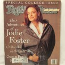 ROLLING STONE MAGAZINE 600 March 21 1991 Jodie Foster
