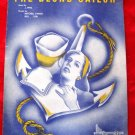 THE BLOND SAILOR Sheet Music 1945 Pfeil Parish