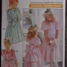 Butterick 3038 Formal Dress Girls 7-8-10 1988