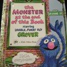 Sesame Street Golden Books Monster Together Attic Grouch 4 Bks