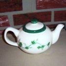 Ivy Teapot Napkin Holder Spoon Rest