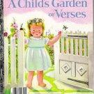 A Child's Garden of Verses Little Golden Book 1981