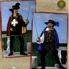 Simplicity 2334 MUSKETEER PIRATE ROBIN HOOD COSTUMES Men's L-XL 42-48 OOP