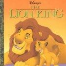 Lion King Little Golden Book + Burger King Figures + Shir