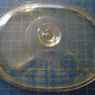 Pyrex Corning Ware 9 3/4 x 7 1/2 Glass Lid F-12-C Oval