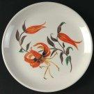 Harmony House Salem Tiger Lily Bread Plates Set 3