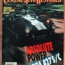 Classic Auto Restorer Dec 1993 Dec 1994 Cobra 427
