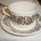 ROYAL USA SUSSEX Cup Saucer Bread Plate 10 Pieces