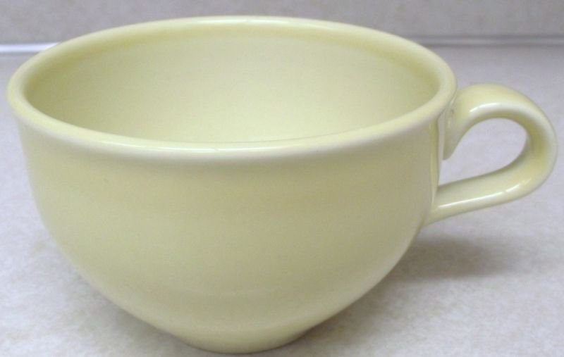 Russel Wright Iroquois Lemon Yellow Cup