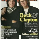 ROLLING STONE Magazine March 2010 Beck & Clapton
