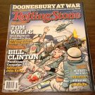 ROLLING STONE Magazine Doonesbury at War August 2004