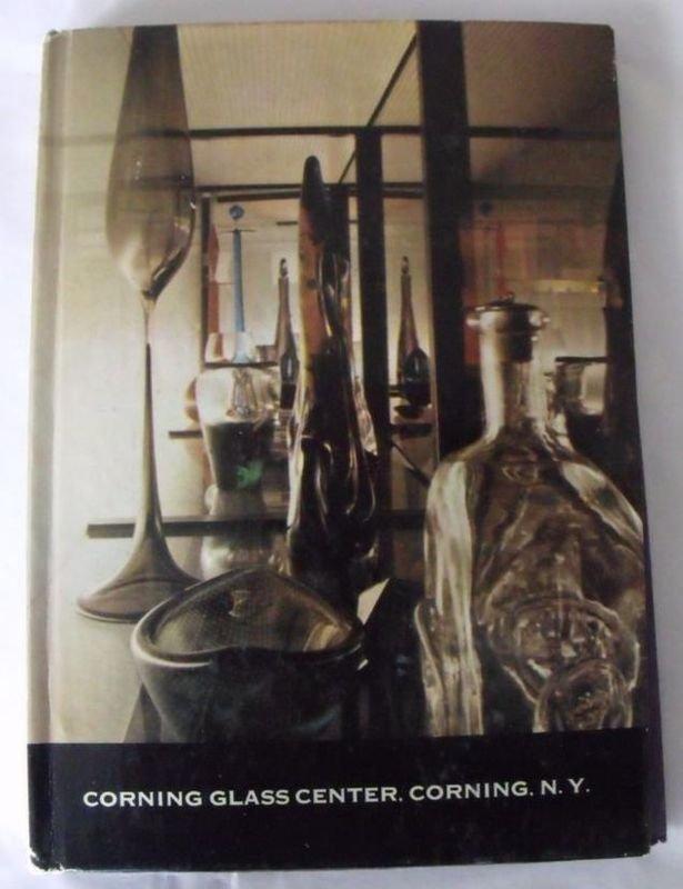 CORNING GLASS CENTER BOOK Corning  NY 1958