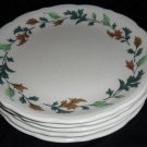 Syracuse Restaurant China Oak Leaves 2 Plates
