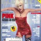 Blender Magazine October 2002 PINK