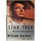 Star Trek Movie Memories William Shatner 1994