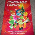 CHRISTMAS CAROLS Piano Arrangements Whitman 1942