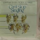 Michael E. Parks CAN'T STOP SINGING Sheet Music 1981