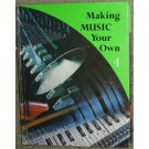 Maing Music Your Own 4 Silver Burdett 1968