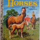 HORSES Little Golden Book 459 1972