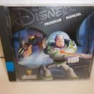 Disney Program Manual Toy Story 2 Action Game 1999