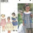 Simplicity 9719 Girls Dress 5-6-6X