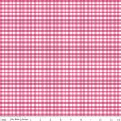 Gingham Check Hot Pink Fabric
