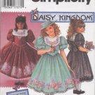 Simplicity 9943 Daisy Kingdom Pattern DRESS Girls 12-14