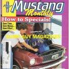 Mustang Monthly 25 Restoration Tips June 1989