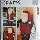 McCall's Crafts 2440 SANTA DOOR GREETERE DOLL Pattern OOP