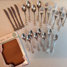 ROGERS by STANLEY ROGERS VICTORIANA STAINLESS 2 Sets
