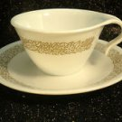 CORELLE WOODLAND BROWN Hook Cup Saucers