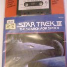 Stat Trek III THE SEARCH FOR SPOCK Book Record NIP