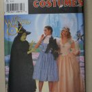 Simplicity 7808 WIZARD OF OZ DOROTHY GLINDA WITCH COSTUMES 18-22 OOP