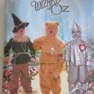 Simplicity 4133 WIZARD OF OZ TIN MAN SCARECROW LION Kids 3-8 OOP