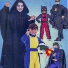 McCall's MP319HERO COSTUMS BATMAN ZORRO RACER Boys 3-6