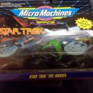 MICRO MACHINES STAR TREK THE MOVIES 65825 3 Pack NIP