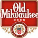 OLD MILWAUKEE BEER LOGO UNIFORM SHIRT LARGE 17 1/2