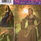 Simplicity 4940 RENAISSANCE MEDIEVAL DRESS GOWN COSTUMES 10-18 OOP