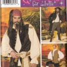 Simplicity 4923 PIRATES COSTUMES COAT VEST SHRT L-XL OOP