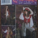 Simplicity 3677 PIRATE COAT BLOUSE VEST COSTUMES 14-20