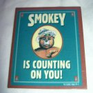 SMOKEY BEAR IS COUNTING ON YOU MAGNET Set of 6