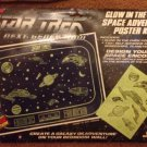 Star Trek The Next Generation Glow in the Dark Space Adventure Poster Kit