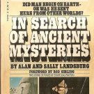 IN SEARCH OF ANCIENT MYSTERIES Alan and Sally Landsburg