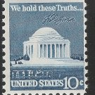 JEFFERSON MEMORIAL 10c STAMPS PARTIAL BOOK 27 STAMPS