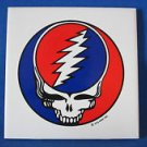 GRATEFUL DEAD CERAMIC TILE MAGNETS Set of 4