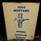 1966 Mustang Wiring Diagram Shop Illustration Manual