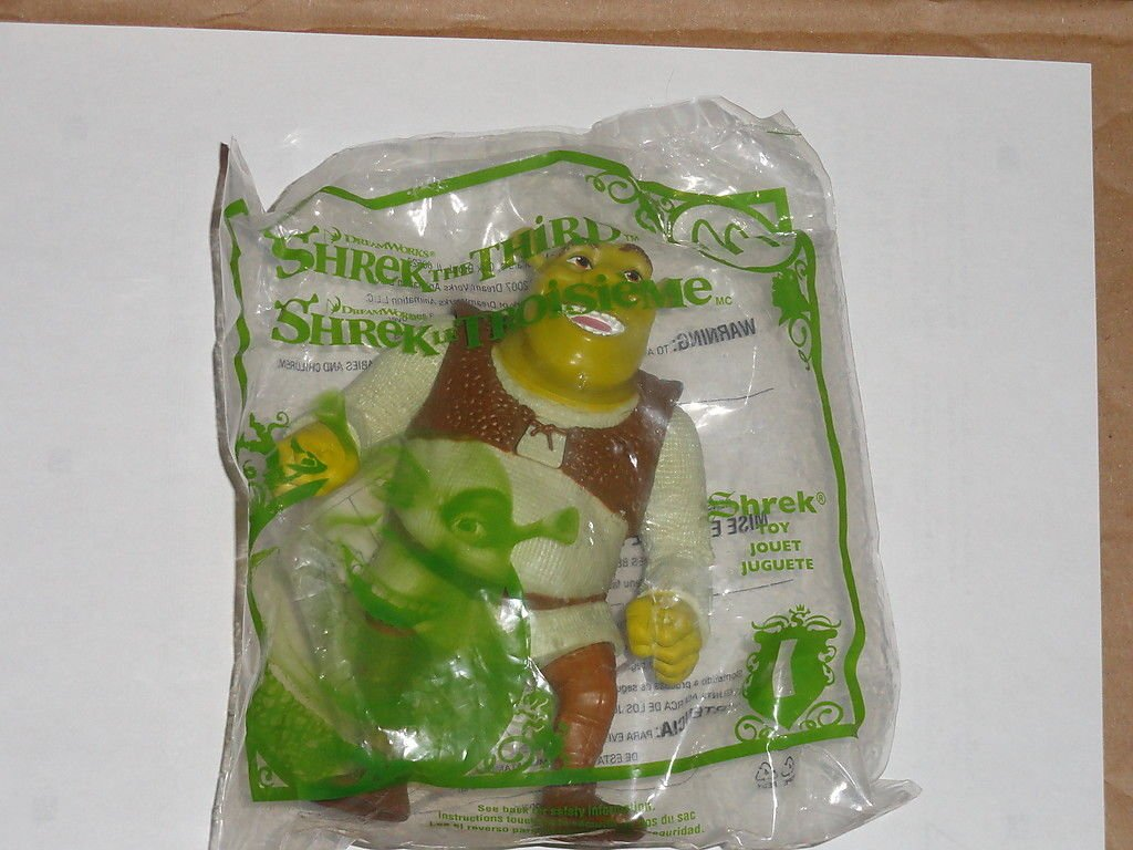 DreamWorks SHREK THE THIRD McDonald's 2007 NIP