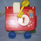 FISHER PRICE 151 GOLDILOCKS 3 BEARS PLAYHOUSE 1967