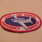 CIVIL AIR PATROL SIX SEW-ON PATCHES 1970